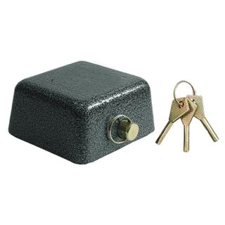 Padray lock, width 90 mm, cast iron, arch d-14 mm, Finnish, 3 keys, SIBBTECH