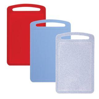 IDEA / Plastic chopping board, 0.8x19.5x31.5 cm, mix color (multicolored)