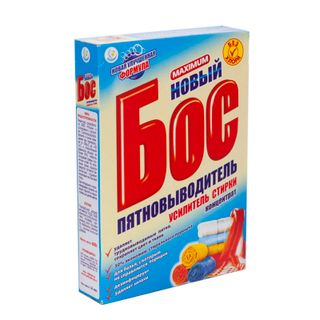 Bos bleach with active oxygen (for white and colored fabrics), 600g
