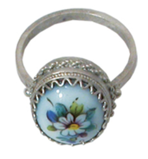 Rostov enamel / Ring from the