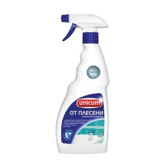 500ml cleaning agent, UNICUM, to remove mold in the bathroom, spray