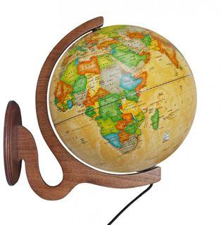 Lamp wall globe