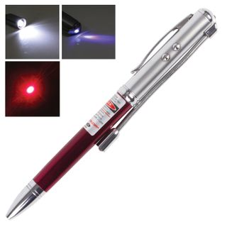 Pointer laser, radius 200 m, the red beam LED flashlight stylus pen, the detector of banknotes, pen