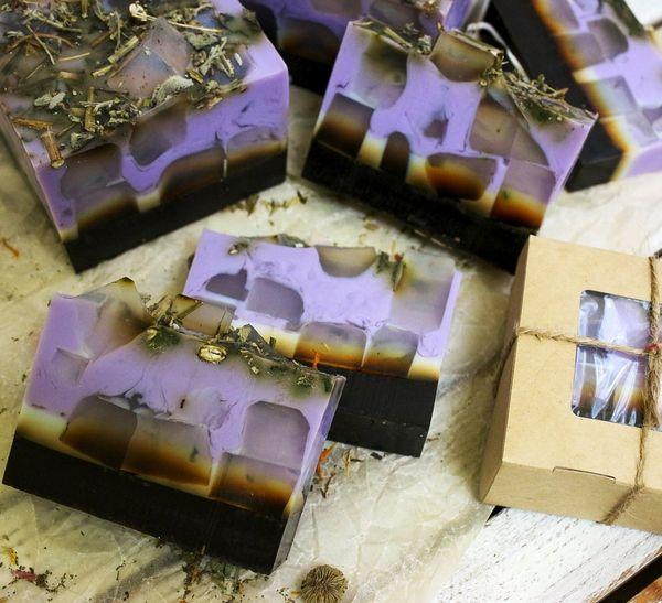Handmade soap bar with Matcha Tea 500 g milotto004435