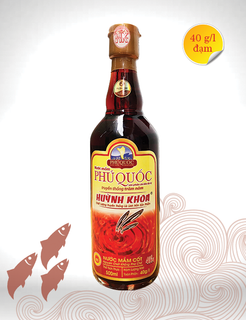 Fish sauce 40 degrees of protein - 500ml