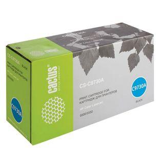 Toner Cartridge CACTUS (CS-C9730A) for HP Color LaserJet 5500/5550, black, yield 13,000 pages