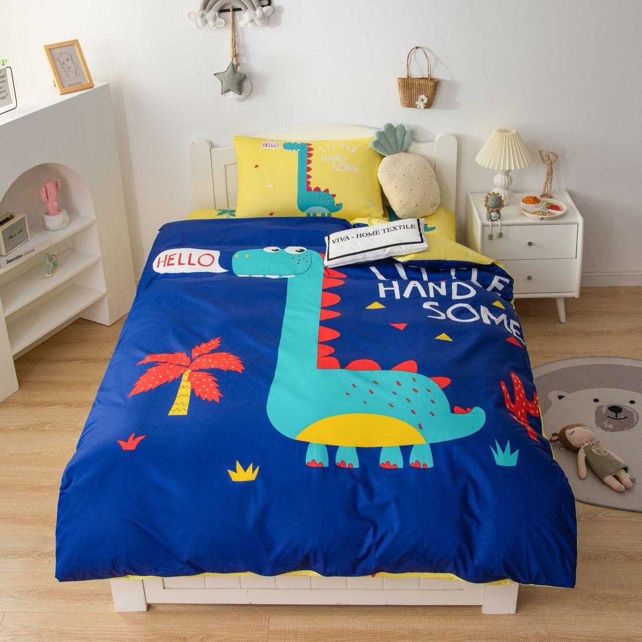 Sitrade / Sateen Bedding Set Children CD033, 1.5 sleeping pillowcase 50-70