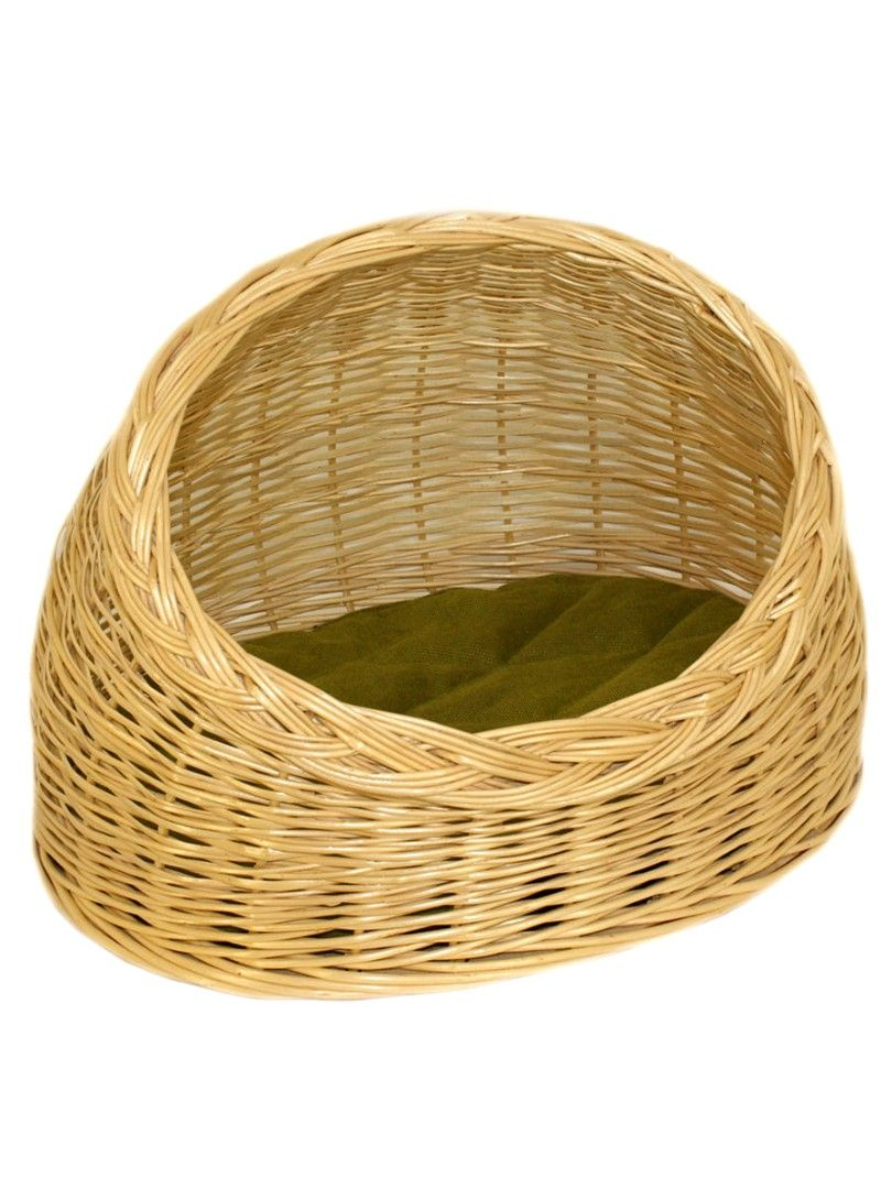 """Azimuth / Wicker house for cats """"Oval"""" No. 3, 540х450 mm"""