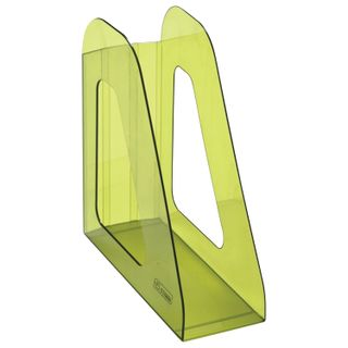 Tray vertical paper of STAMM Favorit (235х240 mm), width 90 mm, tinted green