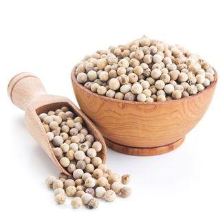 White pepper in beans