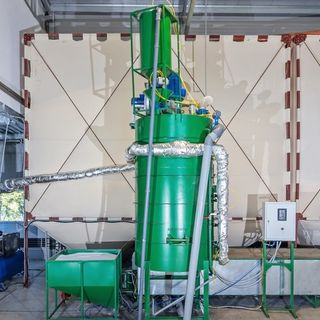 Equipment for the production of styrofoam (expanded polystyrene) PenoCeh 1500