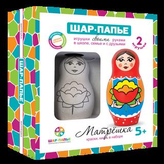 "Set BALL-PAPER ""Matryoshka"""