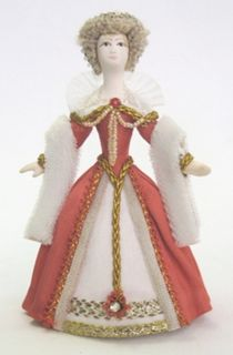 Doll gift. Costume of the French court lady