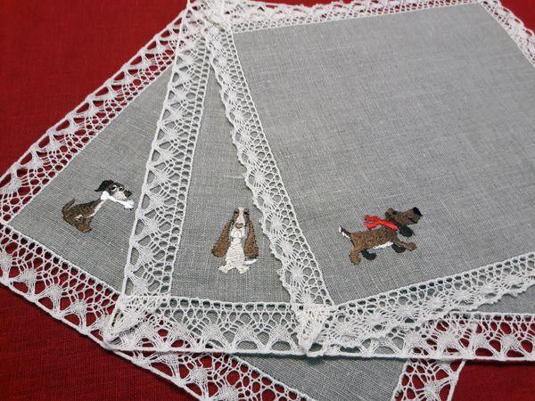Cloth 'Dog' 27х27 cm