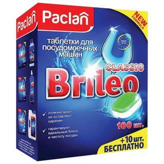 Dishwashing tablets in dishwashers 110 pieces, PACLAN Brileo