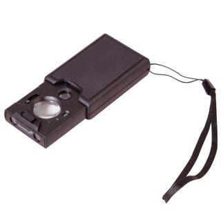 LEVENHUK Zeno magnifier Gem M13, zoom X30/х45-60, the lens diameter of 20/9 mm, LED and UV lighting