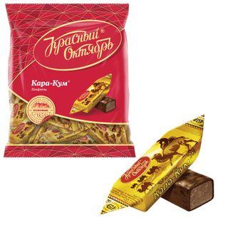 "RED OCTOBER / Chocolate candies ""Kara-Kum"", 250 g, package"