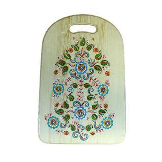 """Board kitchen wooden """"Shenkurskiy painted"""" 43 cm"""