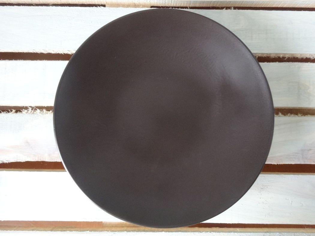 "Horex / Plate ""Carbone"" rotonda di lusso 3 pcs."
