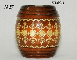 Vyatka souvenir / Keg No. 1 inlaid