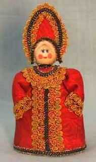 The doll in the Russian style