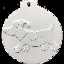 Bas-relief for creativity 'Ball-dog'