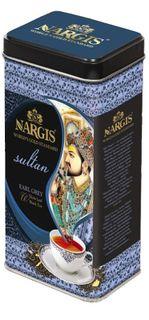 Tea NARGIS black highland, India - gift, can, 200 g