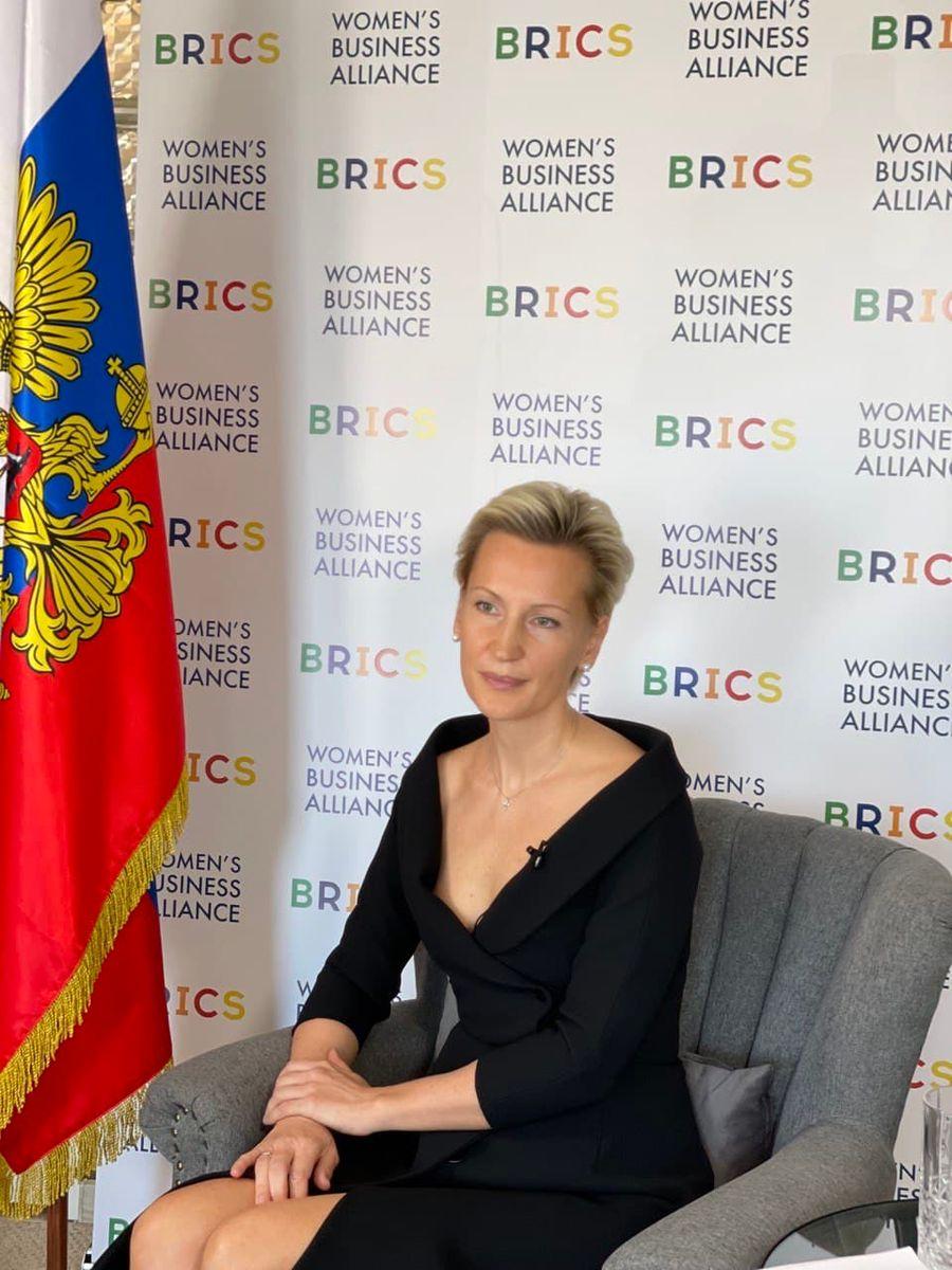 SPIEF 2021:Anna Nesterova 谈到金砖国家的女性创业项目