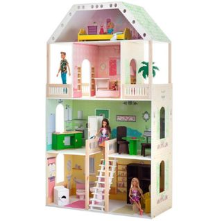 Doll wooden house