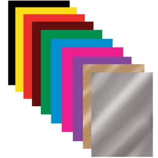 Colored paper A4, offset, MAGICAL, 16 sheets 10 colors for the clip, BRAUBERG, 200х275 mm,
