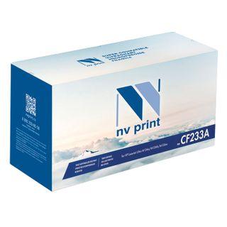 Toner cartridge NV PRINT (NV-CF233A) for HP LaserJet Ultra M134a / M134fn / M106w, yield 2300 pages.