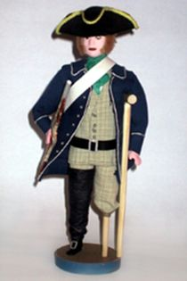 Doll gift. The one-legged pirate.Marine razboinika Military uniform 2nd half of the 17th century.
