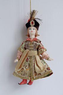 Ivan Tsarevich. Russian traditional costume. Suspension