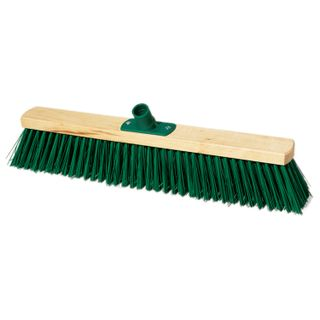 YORK / Technical cleaning brush, width 50 cm, bristles 7.5 cm, wooden, European thread
