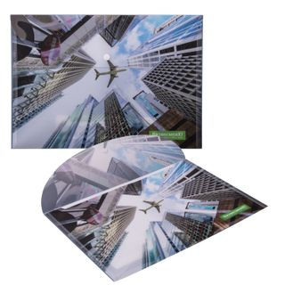 Folder-envelope with the button, BUSINESSMAN, A4, 160 micron, 100 sheets color printing