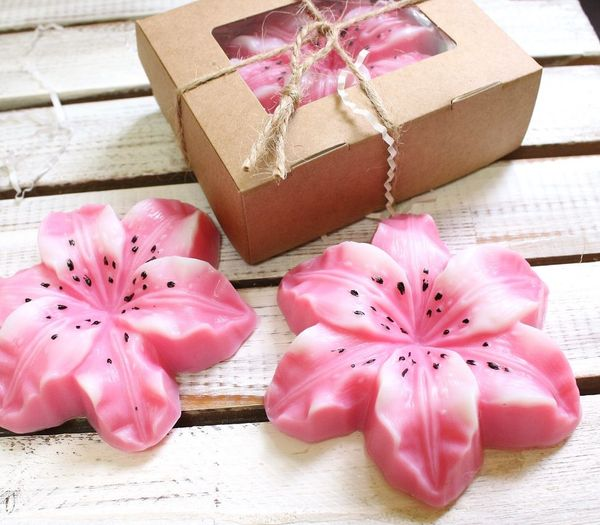 Handmade soap Lily