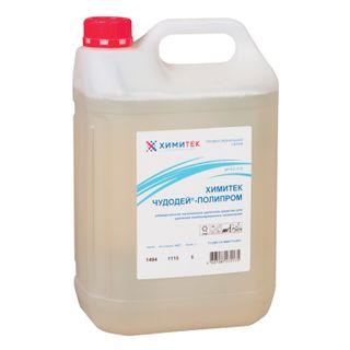 "Detergent universal 5 l, KHIMITEK ""Chudodey-polyprom"", alkaline, low-foamy, concentrate"