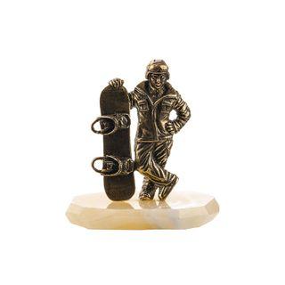"A Statuette ""A Snowboarder. Great"""