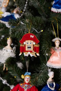 Christmas toy, the Nutcracker, handmade 10 cm
