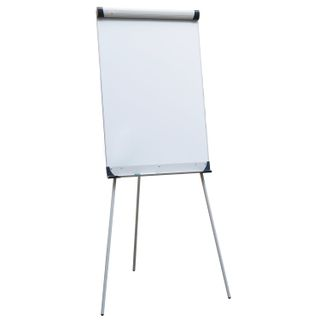 Whiteboard-flipchart magnetic marker (70x100 cm) at the tripod OFFICE,