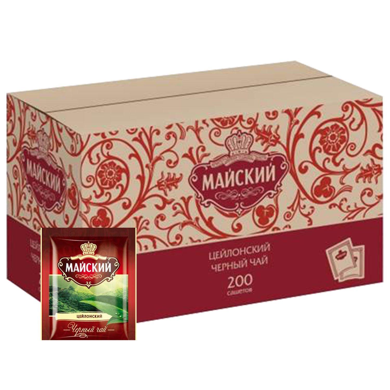 MAY / Black tea, 200 sachets in envelopes 2 g each