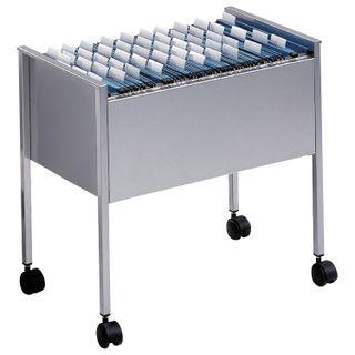 Cart for hanging folders DURABLE, 80 folders, A4 (592х655х368 mm), silver
