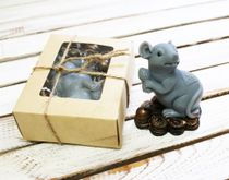Handmade soap Rat with coins