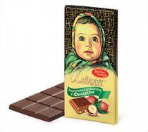 Chocolate Alenka with hazelnuts, 100 gr.