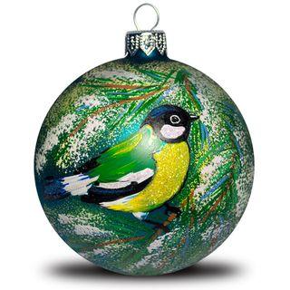 Christmas ball Bird