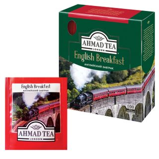 "AHMAD / Tea ""English Breakfast"", black, 100 sachets, 2 g each"