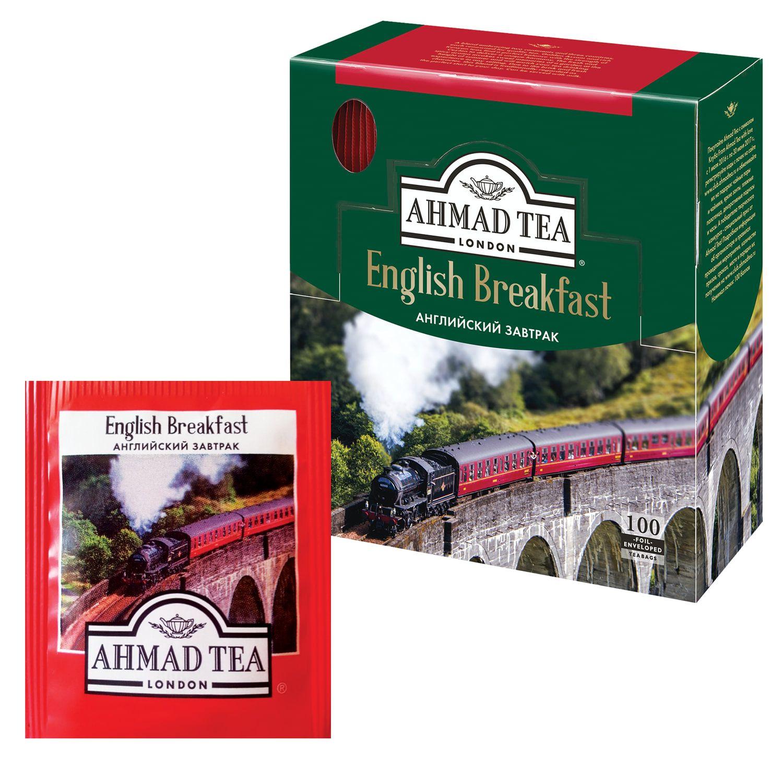 "AHMAD / Tea ""English Breakfast"", black, 100 sachets, 2 g each"