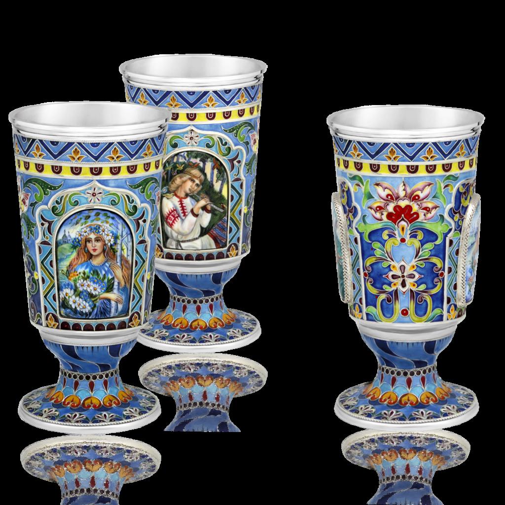 """Rostov enamel / Glass """"Mystery"""""""