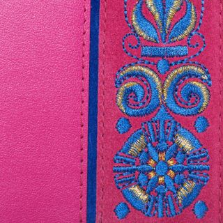 "Passport cover leather ""Astrid"" handmade"