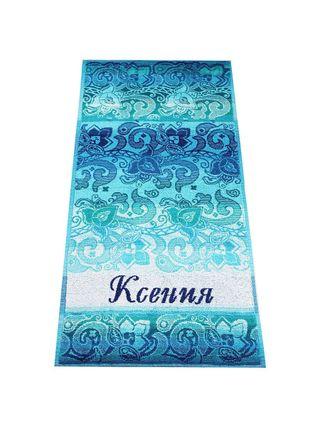 "Terry bath towel named ""Ksenia"" size 100 * 50 jacquard"